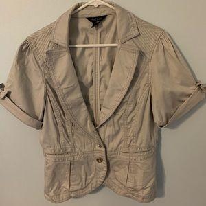 WH/BM size 10 grey jacket Super Cute!!